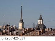 Купить «Санкт-Петербург, городские крыши», фото № 426331, снято 31 июля 2008 г. (c) Андрюхина Анастасия / Фотобанк Лори