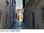 Купить «Отполированные улицы Хорватии», фото № 428595, снято 19 августа 2008 г. (c) Pukhov K / Фотобанк Лори
