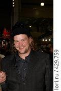 Купить «Финский актер Вилле Хаапасало, самый известный финн России», фото № 429759, снято 27 августа 2008 г. (c) Алексей Зарубин / Фотобанк Лори