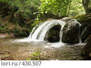 Купить «Исток водопада Джур-джур в крыму», фото № 430507, снято 11 июня 2008 г. (c) Сергей Авдеев / Фотобанк Лори
