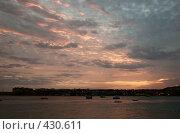 Закат на море. Шарм Эль Шейх. Египет. (2007 год). Стоковое фото, фотограф Ирина Доронина / Фотобанк Лори