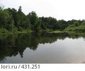 Река Илеть. Стоковое фото, фотограф Ирина Трофимова / Фотобанк Лори