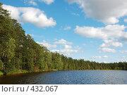 Купить «Пейзаж с озером», фото № 432067, снято 23 августа 2008 г. (c) Катыкин Сергей / Фотобанк Лори