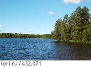 Купить «Пейзаж с озером», фото № 432071, снято 23 августа 2008 г. (c) Катыкин Сергей / Фотобанк Лори
