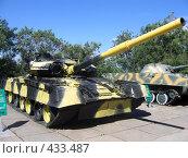 Танк Т-80 (2006 год). Редакционное фото, фотограф Александр Башкатов / Фотобанк Лори