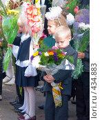 Заждался уроков (2008 год). Редакционное фото, фотограф Ирина Солошенко / Фотобанк Лори
