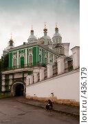 Купить «Успенский кафедральный собор. Вход на территорию храма», фото № 436179, снято 19 июля 2008 г. (c) Виктор Пелих / Фотобанк Лори