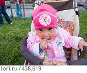 Купить «Девочка и чупа-чупс», фото № 438619, снято 27 августа 2008 г. (c) Ирина Солошенко / Фотобанк Лори