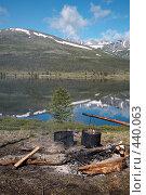 Купить «Привал у озера», фото № 440063, снято 30 июня 2006 г. (c) Serg Zastavkin / Фотобанк Лори