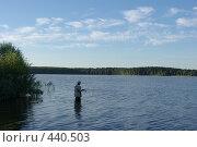 Купить «Рыбалка», фото № 440503, снято 28 июля 2008 г. (c) Максим Кузнецов / Фотобанк Лори