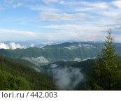 Купить «Западные Саяны. Облака», фото № 442003, снято 20 июля 2008 г. (c) Виталий Матонин / Фотобанк Лори