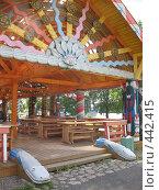 Купить «Верхние Мандроги. Расписной павильон», фото № 442415, снято 5 августа 2008 г. (c) Морковкин Терентий / Фотобанк Лори