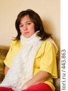 Купить «Портрет грустной девушки», фото № 443863, снято 7 сентября 2008 г. (c) Александр Лядов / Фотобанк Лори