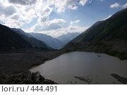 Купить «Горное озеро», фото № 444491, снято 28 июля 2008 г. (c) Антон Щербина / Фотобанк Лори