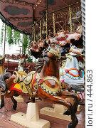 Купить «Фрагмент детской карусели», фото № 444863, снято 20 мая 2006 г. (c) Николай Винокуров / Фотобанк Лори