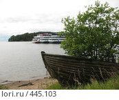 Купить «Лодка с выросшим в ней кустом. Берег острова Валаам.», фото № 445103, снято 6 августа 2008 г. (c) Заноза-Ру / Фотобанк Лори
