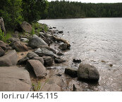 Купить «Берег острова Валаам», фото № 445115, снято 6 августа 2008 г. (c) Заноза-Ру / Фотобанк Лори