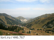 Купить «Вид с гор на город Алма-Ату (Казахстан)», фото № 446767, снято 30 июля 2008 г. (c) Никончук Алексей / Фотобанк Лори
