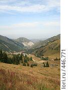 Купить «Вид с гор на город Алма-Ату (Казахстан)», фото № 446771, снято 30 июля 2008 г. (c) Никончук Алексей / Фотобанк Лори