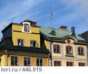 Купить «Крыши Стокгольма. Швеция», фото № 446919, снято 10 августа 2008 г. (c) Юлия Подгорная / Фотобанк Лори