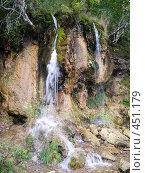 """Купить «Суксун.Водопад """" Плакун """" на реке Сылве», фото № 451179, снято 9 сентября 2008 г. (c) Павел Спирин / Фотобанк Лори"""
