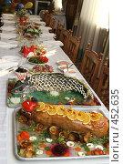 Купить «Сервированный стол», фото № 452635, снято 22 января 2007 г. (c) Галина Михалишина / Фотобанк Лори