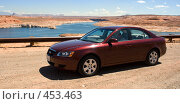 Купить «Автомобиль Hyundai NF Sonata», фото № 453463, снято 23 марта 2019 г. (c) SummeRain / Фотобанк Лори