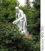 Купить «Ленин в парке», фото № 453751, снято 9 августа 2008 г. (c) Морковкин Терентий / Фотобанк Лори