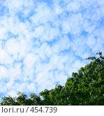 Текстура неба. Стоковое фото, фотограф Владислав Грачев / Фотобанк Лори