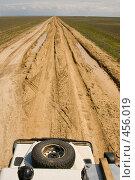Купить «Дорога в Казахстане», фото № 456019, снято 29 апреля 2007 г. (c) Владимир Чмелёв / Фотобанк Лори