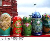 Купить «Тыл матрёшек», фото № 456407, снято 31 августа 2008 г. (c) Ирина Кочергина / Фотобанк Лори