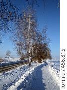 Купить «Зимний пейзаж», фото № 456815, снято 20 января 2008 г. (c) Дмитрий Лагно / Фотобанк Лори