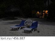 Купить «Пляж на Мальдивах ночью. Полнолуние», фото № 456887, снято 22 ноября 2007 г. (c) Лев Сатаров / Фотобанк Лори