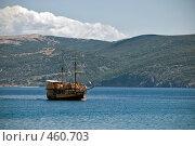 Купить «Корабль», фото № 460703, снято 18 августа 2008 г. (c) Pukhov K / Фотобанк Лори