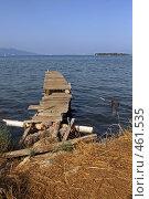 Купить «Причал», фото № 461535, снято 12 сентября 2008 г. (c) Бельская (Ненько) Анастасия / Фотобанк Лори