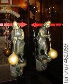Купить «Вильнюс, дверные ручки отеля», фото № 462059, снято 18 июля 2008 г. (c) Ivanova Irina / Фотобанк Лори