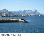 Вид на норвежский городок (2008 год). Стоковое фото, фотограф Anna Marklund / Фотобанк Лори