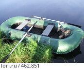 Купить «Лодка рыбака», фото № 462851, снято 27 июня 2008 г. (c) виктор / Фотобанк Лори