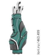Купить «Сумка для клюшек (гольф)», иллюстрация № 463499 (c) Панюков Юрий / Фотобанк Лори