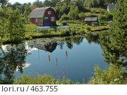 Деревня в Карелии. Стоковое фото, фотограф Юлия Яковлева / Фотобанк Лори