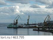 Порт в Петрозаводске (2008 год). Стоковое фото, фотограф Юлия Яковлева / Фотобанк Лори