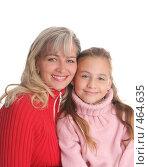 Купить «Счастливая мама с дочкой», фото № 464635, снято 18 сентября 2007 г. (c) Гладских Татьяна / Фотобанк Лори