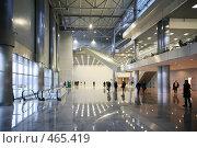 Купить «Люди в холле», фото № 465419, снято 26 марта 2019 г. (c) Losevsky Pavel / Фотобанк Лори