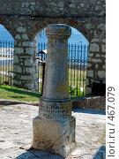 Купить «Исторический столб», фото № 467079, снято 19 августа 2008 г. (c) Pukhov K / Фотобанк Лори