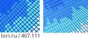 Купить «Фон из прямоугольников в голубых тонах», иллюстрация № 467111 (c) Losevsky Pavel / Фотобанк Лори