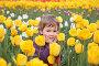 Девочка среди тюльпанов, фото № 467859, снято 30 марта 2017 г. (c) Losevsky Pavel / Фотобанк Лори