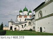 Купить «Николо-Вяжищский женский монастырь», фото № 468319, снято 7 сентября 2008 г. (c) Александр Секретарев / Фотобанк Лори