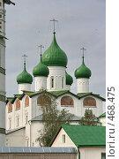 Купить «Николо-Вяжищский женский монастырь», фото № 468475, снято 7 сентября 2008 г. (c) Александр Секретарев / Фотобанк Лори