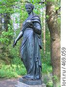 Купить «Статуя Музы в Павловском парке», фото № 469059, снято 27 мая 2007 г. (c) Морковкин Терентий / Фотобанк Лори