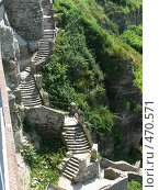Купить «Запутанная лестница, Каменец-Подольский, Украина», фото № 470571, снято 24 июня 2006 г. (c) Татьяна Баранова / Фотобанк Лори